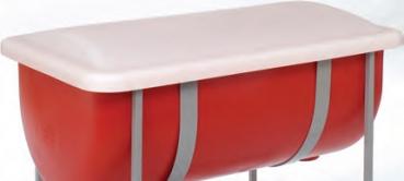 mailbox rechteckiger kunststoffbeh lter. Black Bedroom Furniture Sets. Home Design Ideas