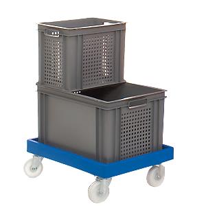 Kunststoffbehälter perforiert