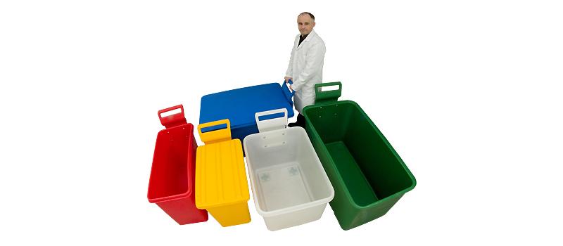 Kunststoffrollwagen